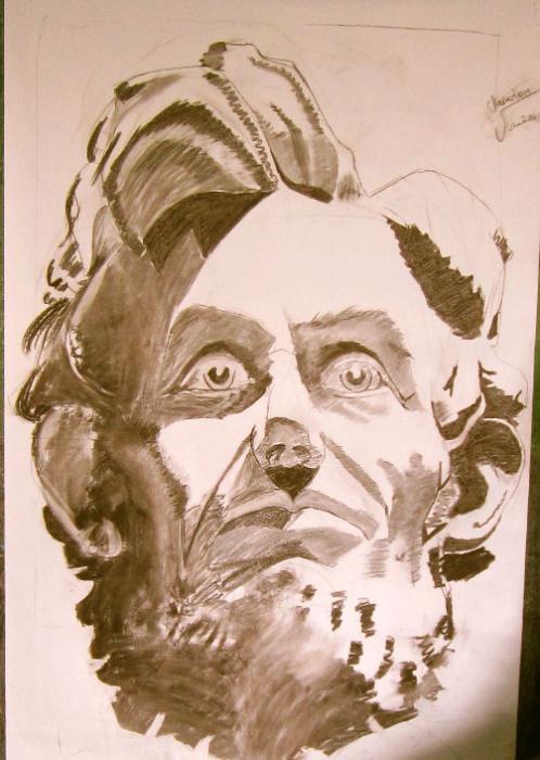 Abraham Lincoln por Dagsart